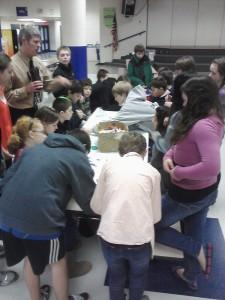 Kopachuck Middle School visit