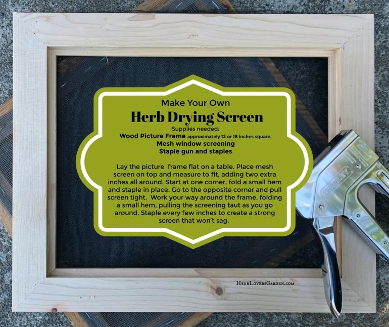 DIY harvest screen finish IMG_5351
